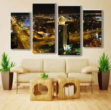 Online Get Cheap 4 Panel Sets Custom Print Canvas Painting