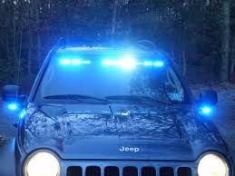 Led Blue Light Bar by 911lights Com Svp Starburst Phantom Split Interior Lightbar