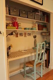 closet turned desk nook work space pinterest desk nook nook