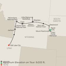 Worlds End State Park Map by National Park Guided Tour Packages Globus