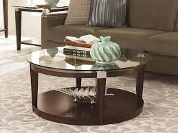 Glass Living Room Table by Modern Round Glass Coffee Table Ideas Home Design By John