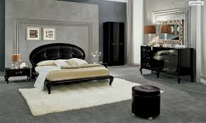 Black Gloss Living Room Furniture Black On Black Modern High Gloss Bed Set With Crocodile Headboard
