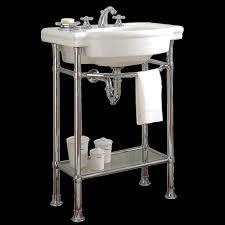 Console Bathroom Sinks Bathroom Fixtures Console Stone Polished Nickel Basin Round Art