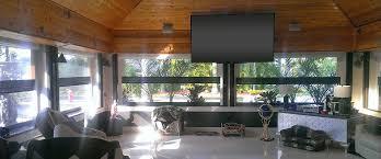 retractable exterior screens clear vinyl exterior screens