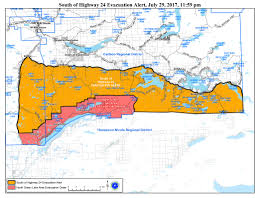 Bc Wildfire Highway Closures by Breaking Evacuations Ordered For Green Lake 70 Mile Watch Lake