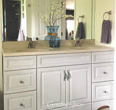 bathroom vanity makeover artistic color decor contemporary and