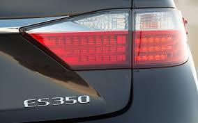 lexus es 330 third brake light 2013 lexus es 350 and es 300h first test motor trend