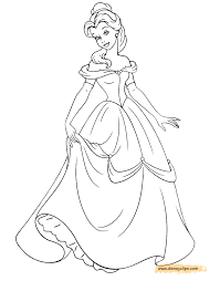 beauty beast coloring pages 2 disney coloring book