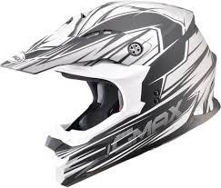 white motocross helmet 116 96 gmax mx 86 raz motocross mx helmet 994881