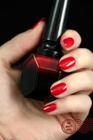 red nail polish a trend that will never go out of style