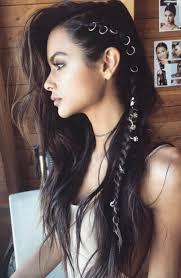 50 bohemian hairstyles to celebrate summer hair rings side