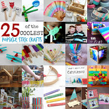 teach me tuesday 25 of the coolest popsicle stick crafts mine