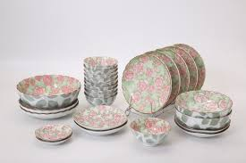 thanksgiving china sets auratic rose 36 piece dinnerware set service for 10 u0026 reviews
