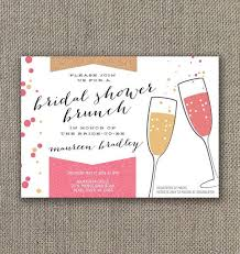 make your own bridal shower invitations bridal shower brunch invitations lilbibby
