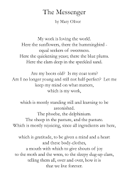 thanksgiving poems and quotes the messenger mary oliver poet mary oliver pinterest