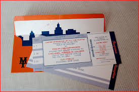 ticket wedding invitations ticket invitation 61099 wedding invitations rossisicecreams