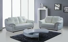 302 white genuine leather sofa 1 2 3 seater