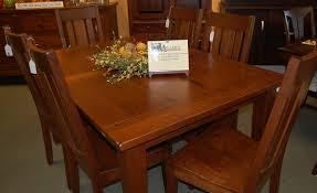 frontier shaker dining set dutch haus custom furniture sarasota