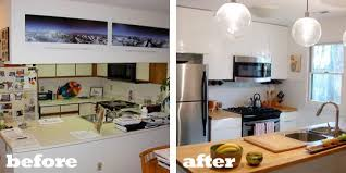 Budget Kitchen Makeovers Before And After - renovation inspiration 10 kitchen before u0026 afters apartment therapy