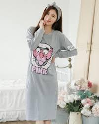 long sleeve night dress long pajamas for women cw59378 yaaku com