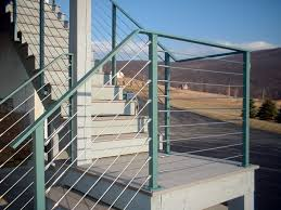 Wire Banister Wire Railings Kits U2014 Railing Stairs And Kitchen Design How To