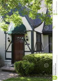 English Tudor Style by Entryway To Tudor Style House 2 Royalty Free Stock Images Image