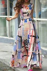abstract pattern sleeveless dress abstract geo print dress things to wear pinterest printing