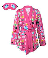 emoji robe sunshine dream fuchsia emoji robe aromatherapy eye mask plus too