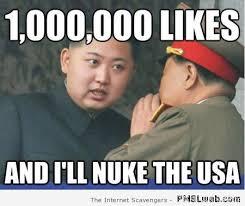 Facebook Likes Meme - 15 kim jong un facebook likes meme pmslweb