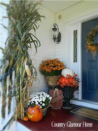 Fall Decorated Porches - 121 best fall decor outdoors images on pinterest fall autumn