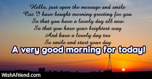 hello just open the message and sweet morning message