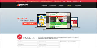 Free Webpage Hit Counter Pharmacy Custom Web Design Affordable Free Layout Proweaver Inc
