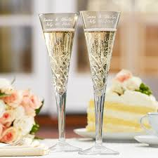 wedding glasses personalized chagne wedding flutes at personal creations