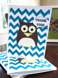free printable chevron owl thank you cards fit mama real food