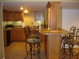 Cool Finished Basements Kitchen U0026 Bar Cool Decoration Of Bars For Basements