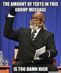 Group Message Meme - image jpg