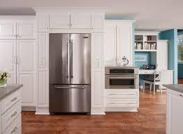 Samsung Cabinet Depth Refrigerator Samsung Vs Frigidaire Pro Counter Depth French Door Refrigerators