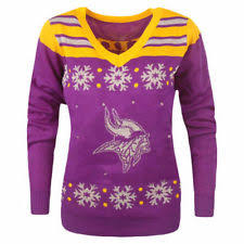 sweaters that light up forever collectibles minnesota vikings nfl sweaters ebay