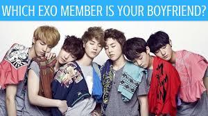 exo quiz boyfriend which exo member is your boyfriend kpop personality test youtube