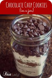 how to make chocolate chip cookies in a jar