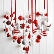 christmas decorating christmas decoration for office heart shaped christmas