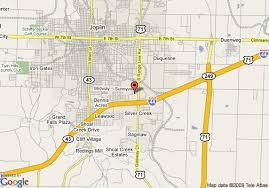 joplin mo map map of quality inn joplin joplin
