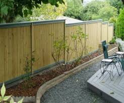 Different Types Of Garden - stockade fence ideas type fence designs gardening gifts