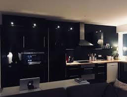 cuisine mur cuisine mur noir mat