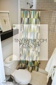Small Bathroom Makeover Ideas On A Budget - small bathroom design on a budget homemade ginger