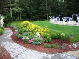bedroom garden design with flower bed ideas landscape from