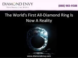 all diamond ring the world s all diamond ring is now a reality