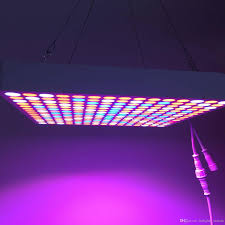 infrared and ultraviolet light led hanging panel grow light 50w ir uv l indoor plant grows