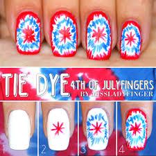 4th of julyfingers 3 easy nail art ideas miss ladyfinger uñas