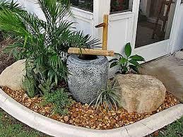 Water Feature Ideas For Small Gardens Tsukubai Water Fountains Japanese Garden Design Ideas Yard
